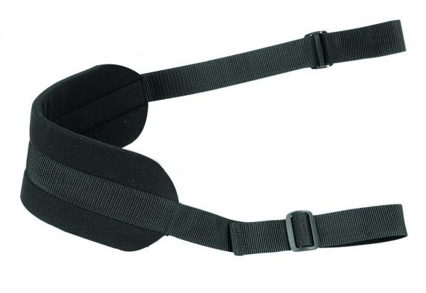 Plus Size Doggie Strap Black