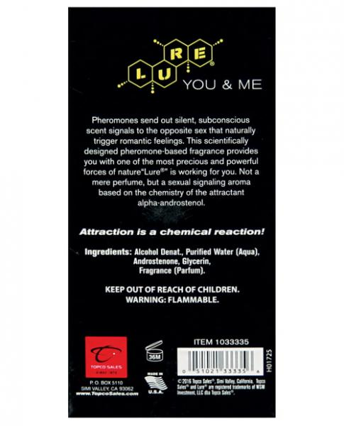 Lure For You and Me Pheromone Infused Scent 2.5oz