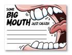 Big Mouth Note Pad Sex Toy Product