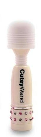 Cutey Wand White Micro Massager