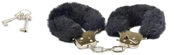 Play Time Cuffs Black Fur