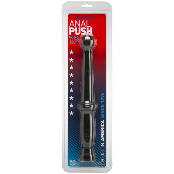 Anal Push Dildo - Black