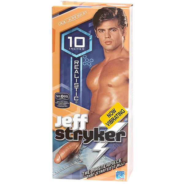 Jeff Stryker Vibrating C*ck Sex Toy Product Image 4
