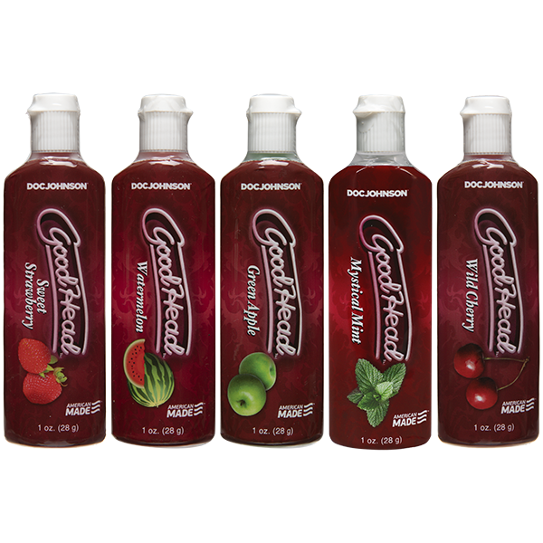 GoodHead 5 Pack Assorted Flavors 1 ounce Bottles