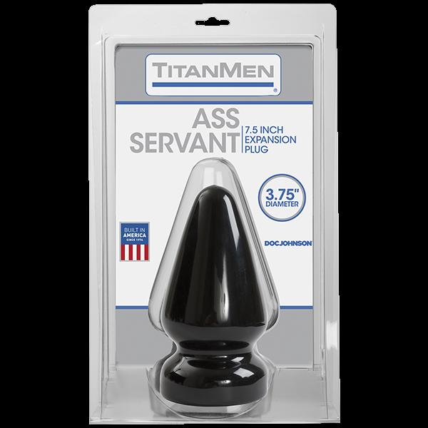 Ass Servant Plug  - Black