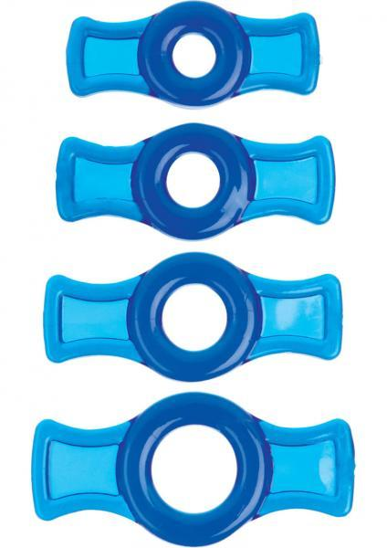 Titanmen Tools Cock Ring Set Blue