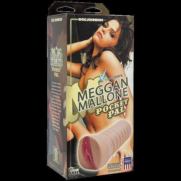 Meggan Mallone Realistic Pocket Pal Pussy Masturbator