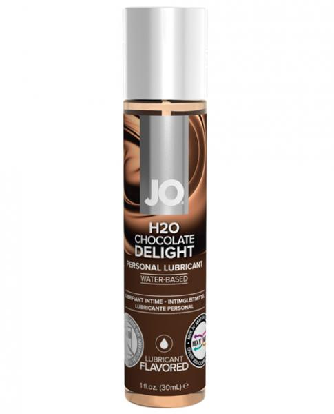 System JO H2O Flavored Lubricant Chocolate 1oz