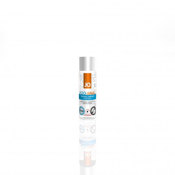 Jo H2O Warming Anal Water Based Lubricant 2 oz