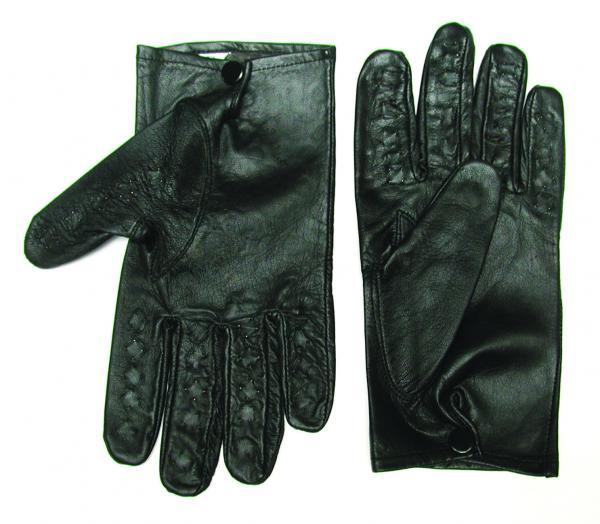Vampire Gloves Leather Small Black