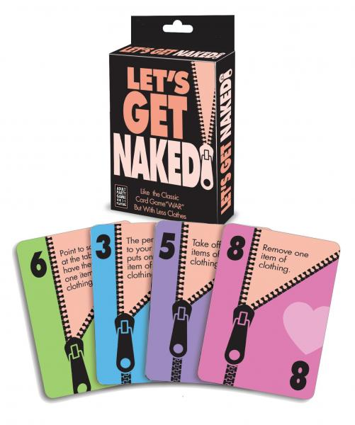 Let's Get Naked Party Card Game