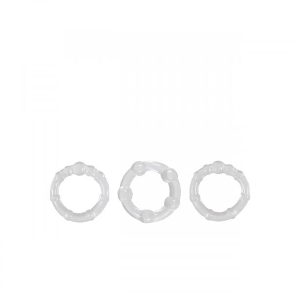 Renegade Intensity Rings Clear 3 Pack