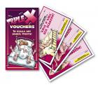 XXX Vouchers Coupon Book Sex Toy Product