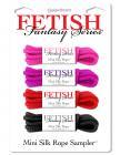 Fetish Fantasy Series Mini Silk Rope Sampler Sex Toy Product