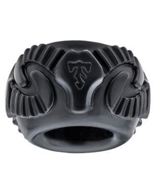 Tribal Son Ram Ring Black