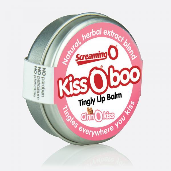 KissOboo Tingly Lip Balm Cinnamon .45oz Tin