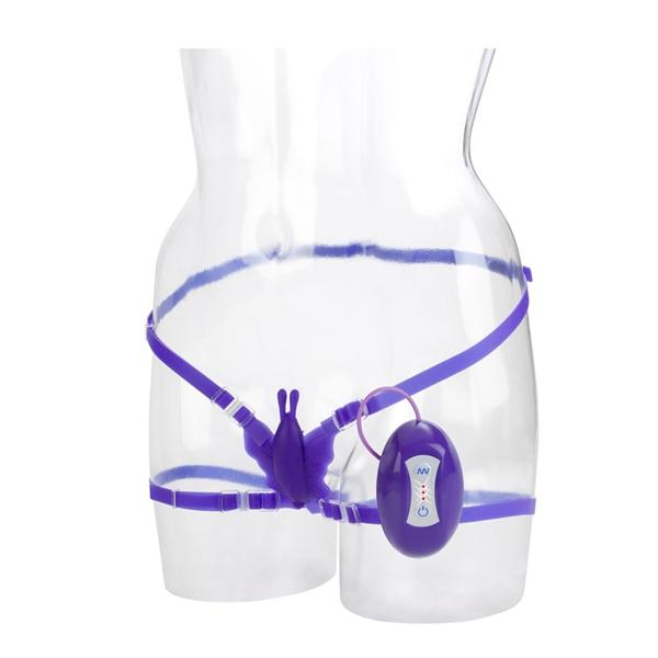 7 Function Silicone Butterfly Bliss - Purple