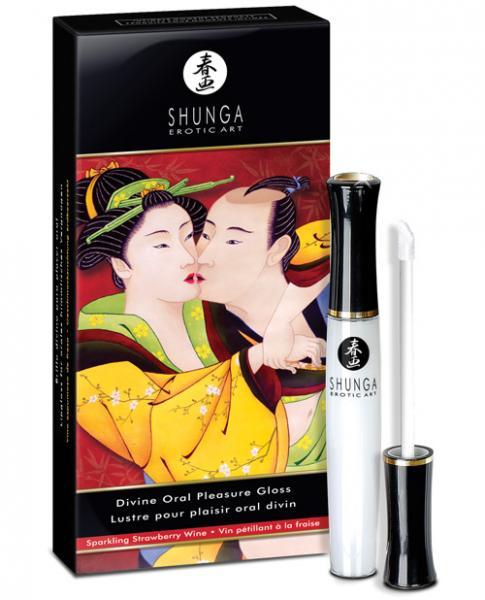 Divine Oral Pleasures Lipgloss Strawberry Wine .33oz