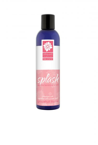 Sliquid Splash Grapefruit Thyme Feminine Wash 8.5oz