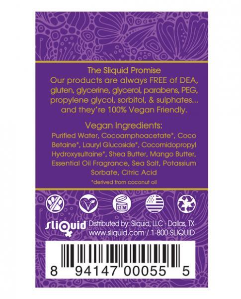 Sliquid Soak Bubble Bath Limoncello 8.5 fluid ounces