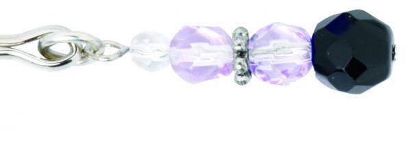 Clit Clamp W/Purple Beads