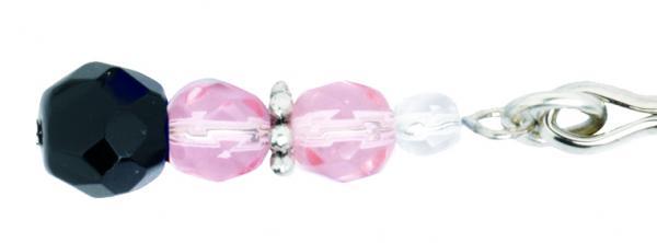 Tweezer Clit Clamp W/Pink Beads