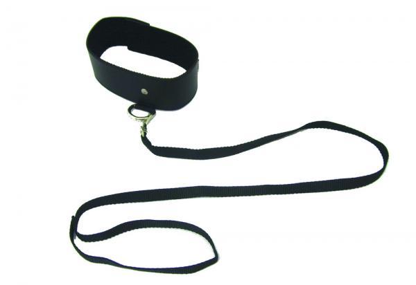 Sex & Mischief Black Leash and Collar