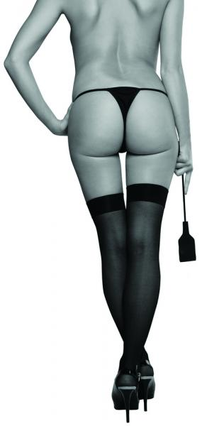 Sex & Mischief Riding Crop Black