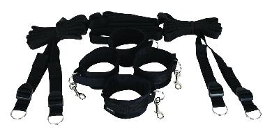 Under the Bed Restraint System Black