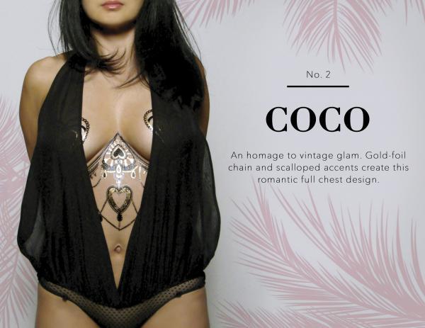 Coco Body Tattoo