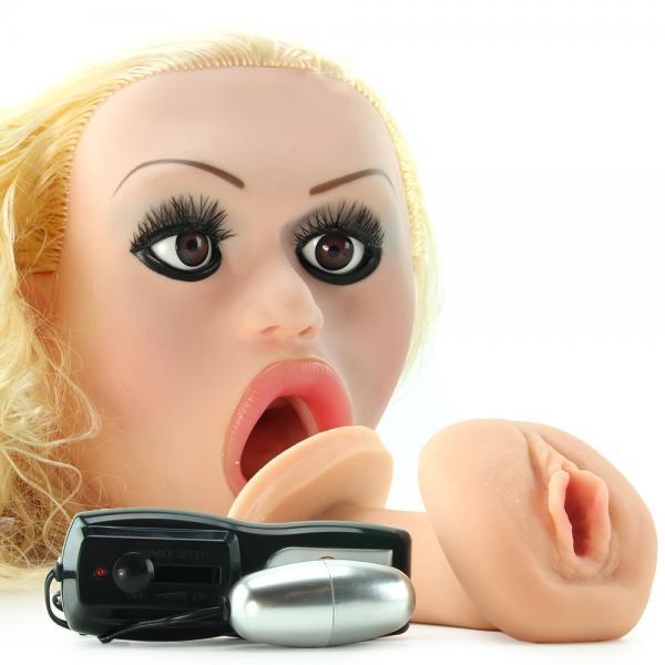 Cyberskin vibrating cyber chic sex doll