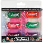 Goodhead Oral Sex Gel Pillow Paks 6 Pack Sex Toy Product