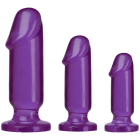 Crystal Jellies Anal Starter Kit Purple Sex Toy Product