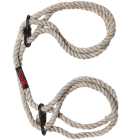 Kink Hogtie Bind & Tie Wrist Or Ankle Cuffs .23 inch Natural  Sex Toy Product