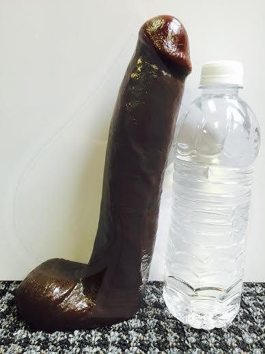 Chocolate dildo
