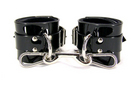 Lined PVC Ankle Cuffs Sex Toy Product