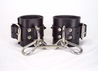 Leather Unlined Ankle Cuffs Sex Toy Product