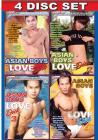 Asian Boys Love Dick {4 Disc Set} Sex Toy Product