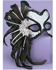 Half Mask Karneval Silver O/S Sex Toy Product