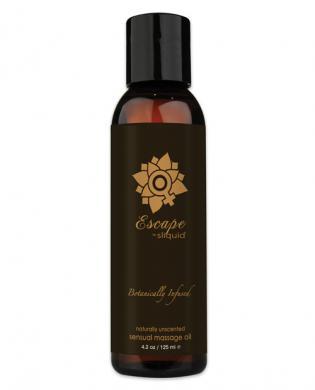 New sliquid organics escape massage oil 4.2 oz