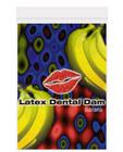 Latex dental dam, banana Sex Toy Product