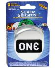 One super sensitive condoms - box of 3 Sex Toy Product