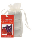 Candle 3 Pack Edible Cherry, Grape, Strawberry	 Sex Toy Product