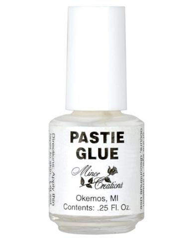 Minor creations pastie glue 1/4 oz bottle