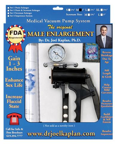 "The original male enlargement pump system 2"""