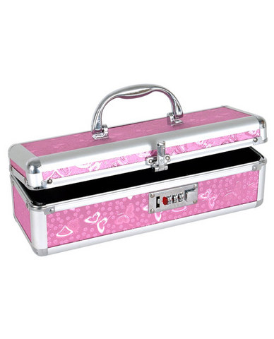 Lockable vibrator case - pink Sex Toy Product