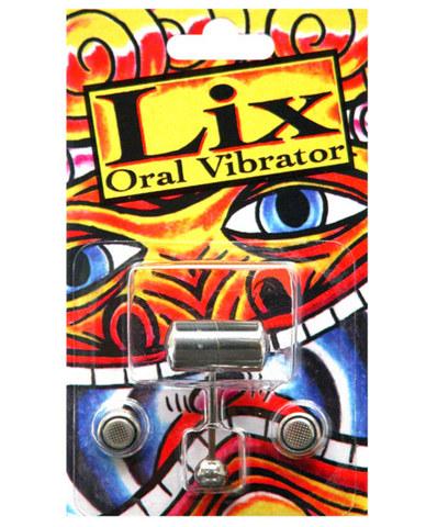 Lix oral vibrator tongue ring