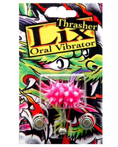 Lix-thrasher oral vibrator tongue ring
