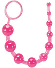 Basic Anal Beads - Pink Sex Toy Product