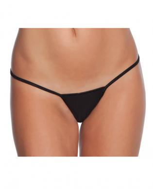 Low Rise Lycra G-String Black O/S